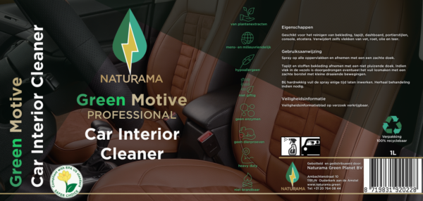 Green Motive Car Interior Cleaner