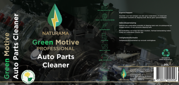 Green Motive Auto Parts Cleaner