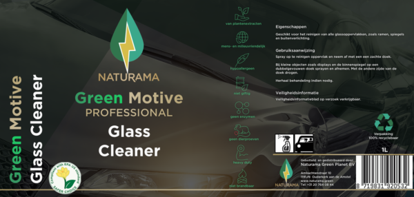 Green Motive Glass Cleaner
