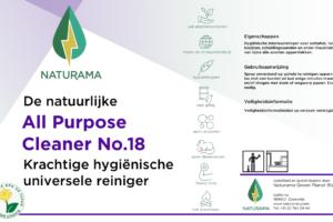 Hygienische krachtige allesreiniger - univrsal all purpose cleaner antibacterial